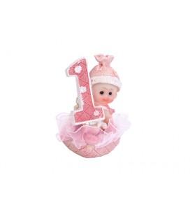 Figurine bébé fille 1er...