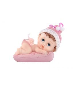 Figurine bébé fille sur...