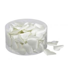 Cœur satin blanc par boîte...