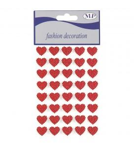 Stickers cœur rouge pour...