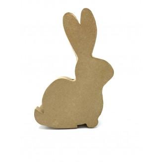 Boîte kraft lapin à décorer